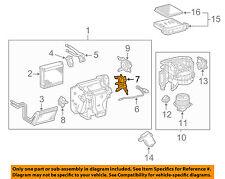 TOYOTA OEM Evaporator Heater-Servo 8710635180