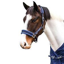 Loveson Fleece Lined Head Collar Cob Navy Blue