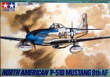 Tamiya America [TAM] 1:48 P51D Mustang Plastic Model Kit TAM61040