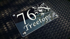 Unbranded Glass Contemporary Decorative Plaques & Signs
