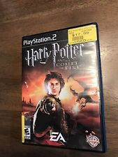 Harry Potter And The Goblet Of Fire Sony PlayStation 2 PS2 Complete Fast Ship 2%