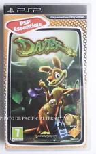 jeu DAXTER essentials sur sony PSP en francais enfant game spiel juego gioco TBE