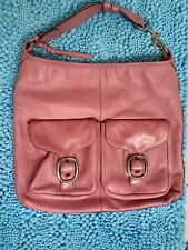 COACH Extra-Large, Pink Hobo Purse