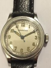 LONGINES military vintage, Cal.10L, 3 notches, 3 tacche, 31mm