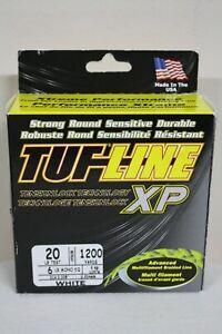 TUF-Line XP White 20 lb Test 1200 yards Multifilament Braid Fishing Line