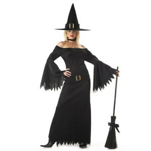 Deluxe Elegant Witch Costume