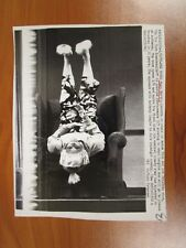 Vintage AP Wire Press Photo Actress Mary Martin in Do You Turn Somersaults?