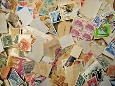 Box O Lot of World Postage Stamps off paper, un researched,  5.91 lbs Tare