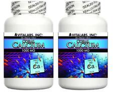 2x Coral Calcium Pills 1000mg Marine Grade Calcium Magnesium Bones Osteoporosis