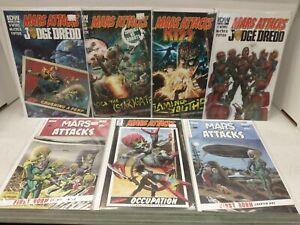 Mars Attacks Crossover Lot of 7 Comics Kiss Judge Dredd 2020 IDW NM