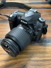 Nikon D D50 6.1MP Digital SLR Camera - Black (Kit w/ AF-S DX 18-55mm and AF-S DX