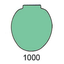 GREEN Toilet Seat for Case 1000, 3000, 2nd Model