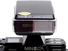 Minolta flash 1800 AF for Minolta cameras with regular shoe. Guide Number 18.