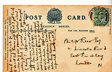 Genealogy Postcard - Family History - Rees - East Finchley - London N    U2683