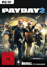 Payday 2 für PC - Steam Account