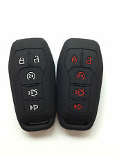 2pcs Fob Remote key Case Cover for FORD Fusion Mustang F-150 LINCOLN MKZ MKC