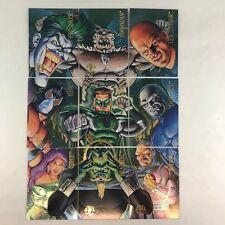 DC VILLAINS SKYBOX 1995 Complete GATHERING OF EVIL Foil Chase Card Set ge1-ge9