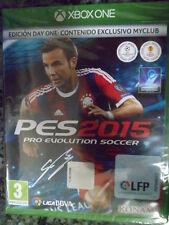 PES 2015 Pro Evolution Soccer Edición Day One Xbox One Nuevo Fútbol football