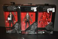 Star Wars The Black Series Sith Jet Trooper Capt. Poe Dameron or Jedha