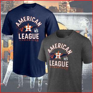 HOT HOT!! Houston Astros 2021 American League Champions Locker Room T-Shirt