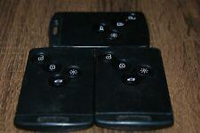 GENUINE RENAULT 4 BUTTON REMOTE KEY CARD MEGANE CLIO LAGUNA ETC TESTED,,