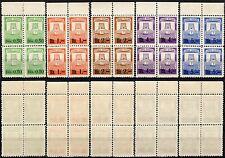 #1772 - Grad Susak - Lotto di 20 marche da bollo in quartina - Nuovi (** MNH)