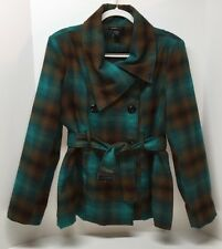 BEAUTIFUL PLAID WINTER JACKET by ROBERT LOUIS size XL