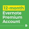 Brand New 12-Month Premium Evernote Account $13.85