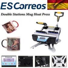 Prensa ST-210 Térmica para Doble Tazas de Sublimación Transferencia de Impresión