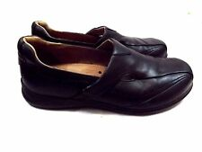 Aravon Men's Shoes, Size 10 D, Black Leather Loafers, Made in Italy