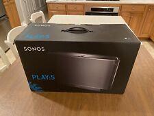 Sonos Play 5, Gen 1 Wireless Streaming Smart Speaker - Brand New In Box Sealed