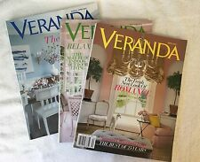 Lot 3 Veranda Magazine Back Issues March 2012, May 2013 & March 2014