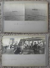 POTSDAM SHIP W/ PASSENGERS, ROMANTIC COUPLES, TOP DECK VIEW, LOT OF PHOTOS