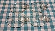 Gaiety Clear Glass Snack Set of 4