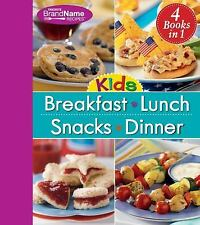 4 in 1 Recipe Book for Kids: Breakfast, Lunch, Snacks, and Dinner, Editors of Fa