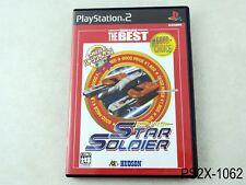 Star Soldier Hudson Best Playstation 2 Japanese Import Japan JP PS2 US Seller B