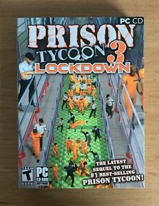 Prison Tycoon 3 Lockdown | PC CD Game | Valusoft | Windows | Rare