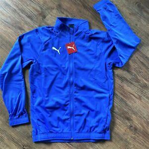 Puma LIGA Sideline Core Trainingsjacke Herren Blau Men Fußball 655946-02 SALE