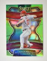 2020 Select Neon Green #88 Aaron Nola /99 - Philadelphia Phillies