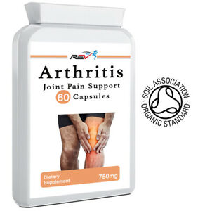 Joint & Muscle Pain Relief Supplement Knee & Back Pain Arthritis Capsules Joints