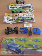 3x Ü-Ei Auto Hot Wheels  MPG TR127 grün / MPG TR129 schwarz/ Sprinty FT 049 blau