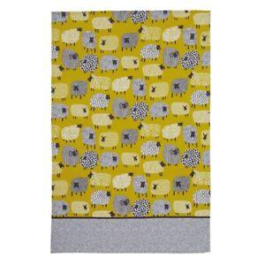 Dotty Sheep Cotton Tea Towel Ulster Weavers