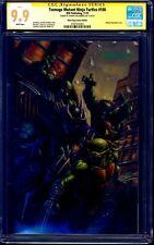 Teenage Mutant Ninja Turtles #100 VARIANT CGC SS 9.9 signed Johnny Desjardins