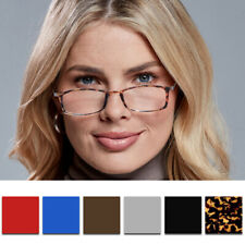 ThinOptics FrontPage Brooklyn Reading Glasses with Milano Case