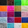Plain All Way Stretch Lycra Fabric Nylon Spandex Dress Dance Wear 150cm Wide