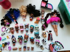 LOL Lol Surprise Doll Bundle Pets Lil Sisters OMG Hair Zodiac Rare Accessories
