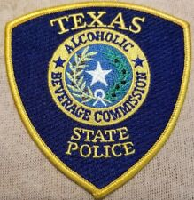 TX Texas State Police Alcoholic Beverage Commission Patch