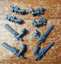 Warhammer 40k NCSM Chaos Space Marine Bits Heretic Chain Sword Bolt /& Pistol X6