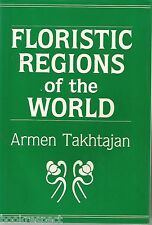 FLORISTIC REGIONS of the WORLD by Armen Takhtajan 1986 Hc 1st TRANSLATED ED RARE