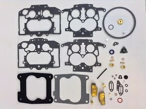 CARTER THERMOQUAD CARB KIT 1972-77 CHRYSLER DODGE PLYMOUTH 340 383 440 W/Float